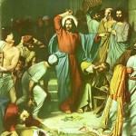 Jesus cleanses the Temple