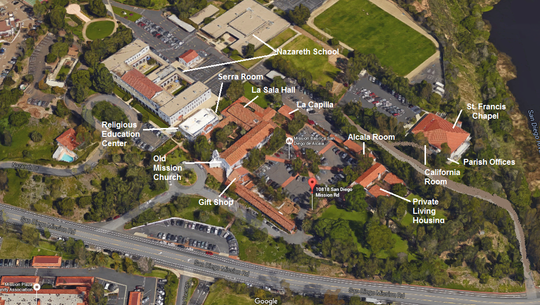 Nazareth Campus Map.40th Anniversary Of Priesthood Ordination Mission Basilica San