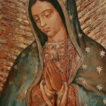 The image of Our Lady of Guadalupe is depicted in a contemporary painting. The appearance of Mary to St. Juan Diego in Mexico in 1531 is said to have resulted in millions of conversions to Catholicism. The feast of Our Lady of Guadalupe, patroness of the Americas, is Dec. 12. (CNS photo/Nancy Wiechec) (Nov. 21, 2008)