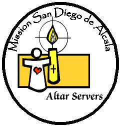 Mission San Diego Altar Server Training
