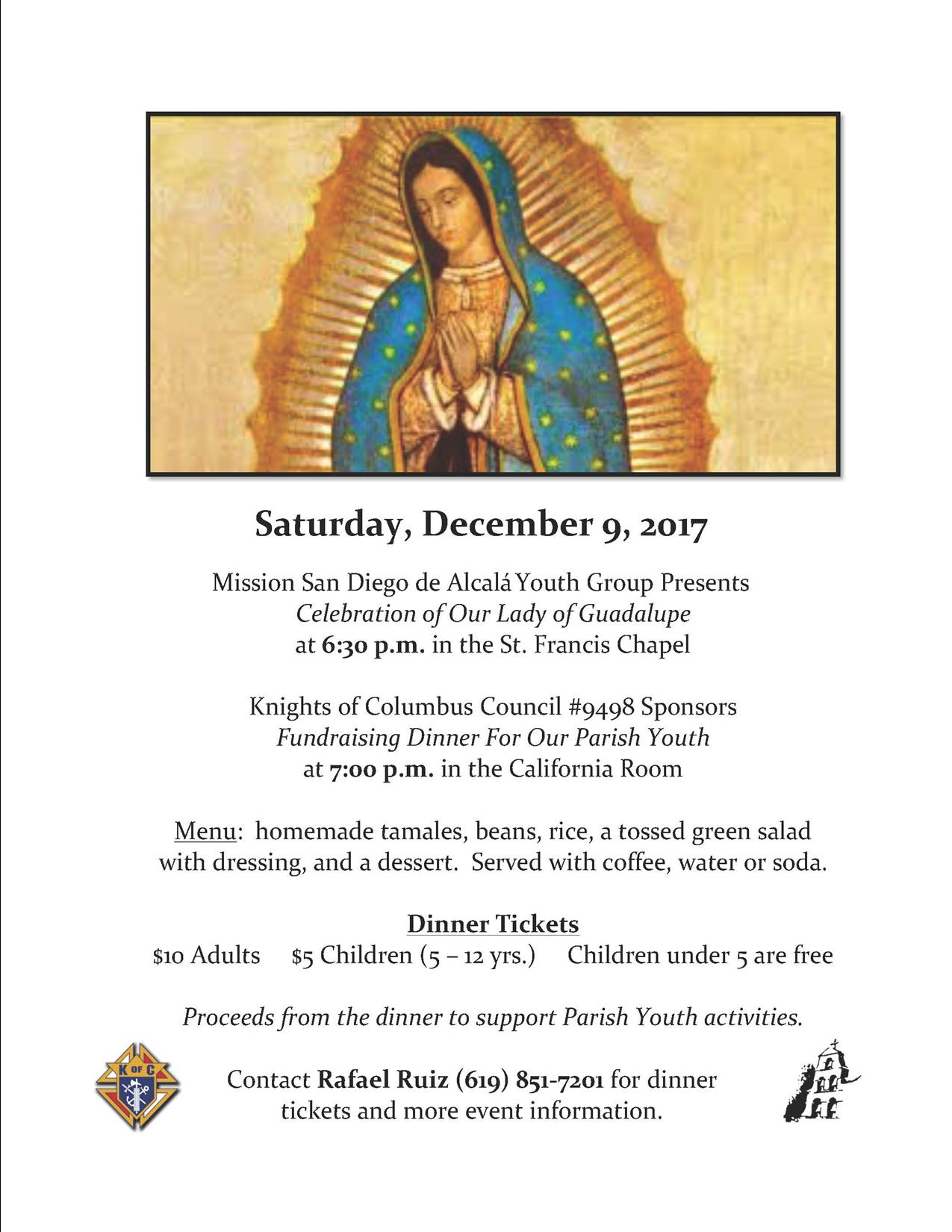 A Celebration of Our Lady of Guadalupe