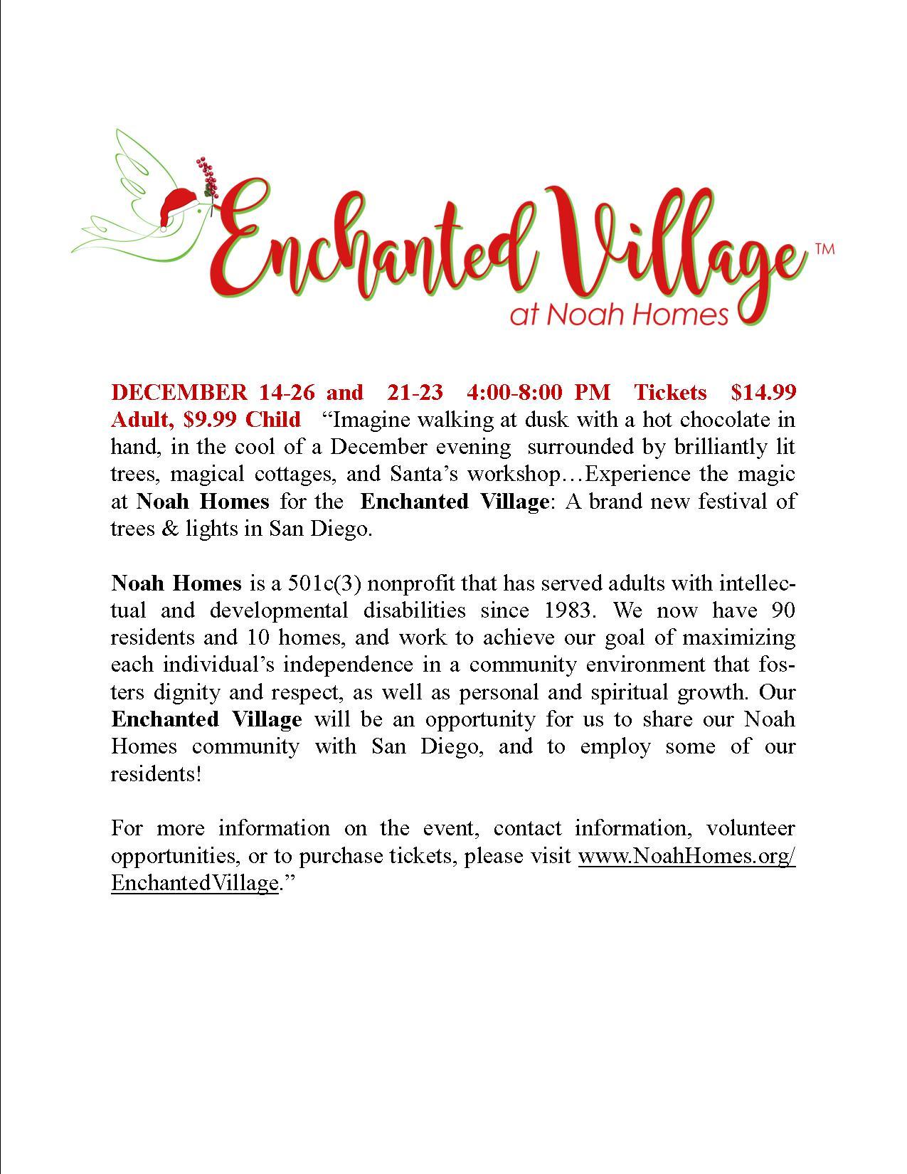 Enchanted Village at Noah Homes