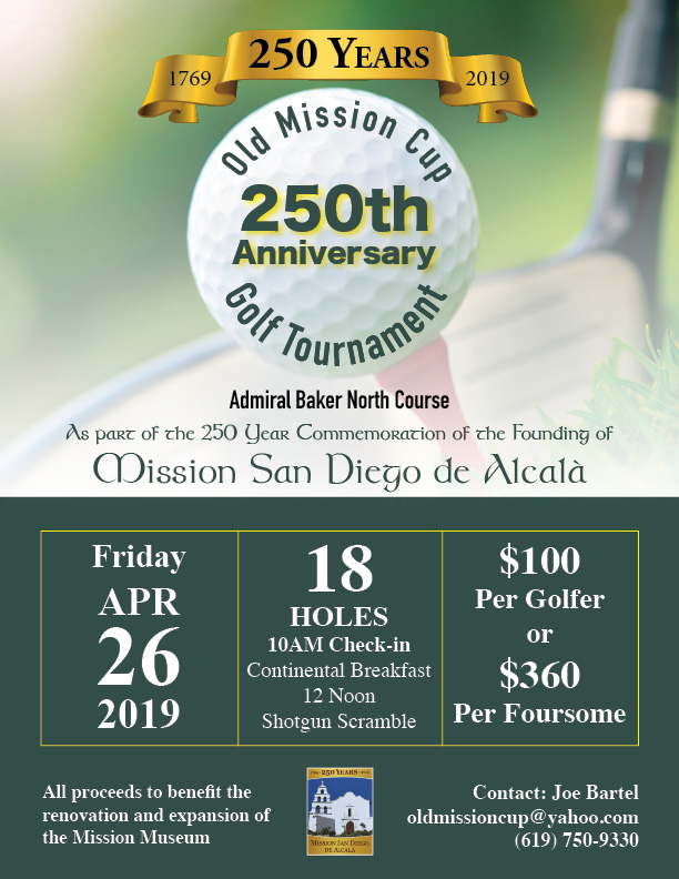 2019 Jubilee Year 'Old Mission Cup' Golf Tournament