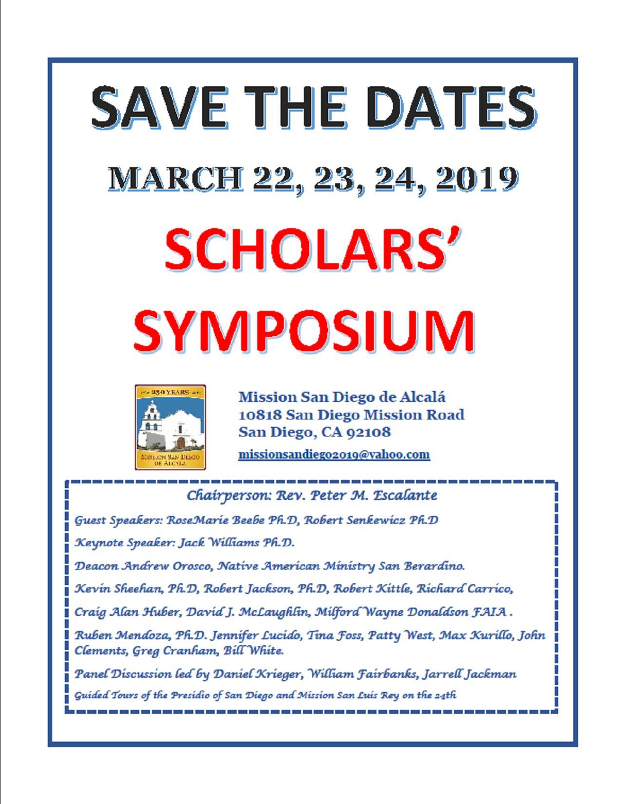 2019 Jubilee Year Scholars' Symposium