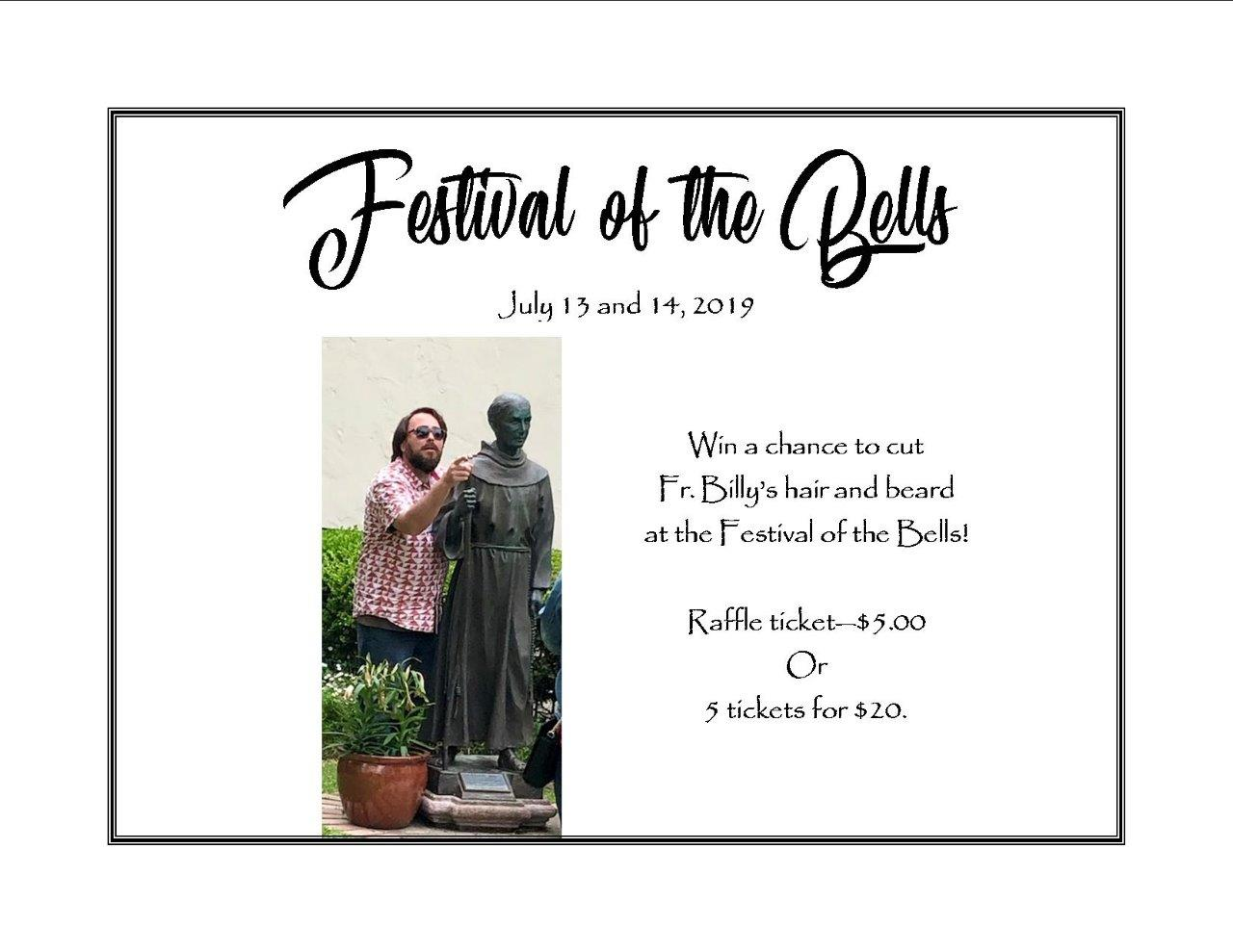 """The """"Big Opportunity"""" at the Festival of the Bells!"""