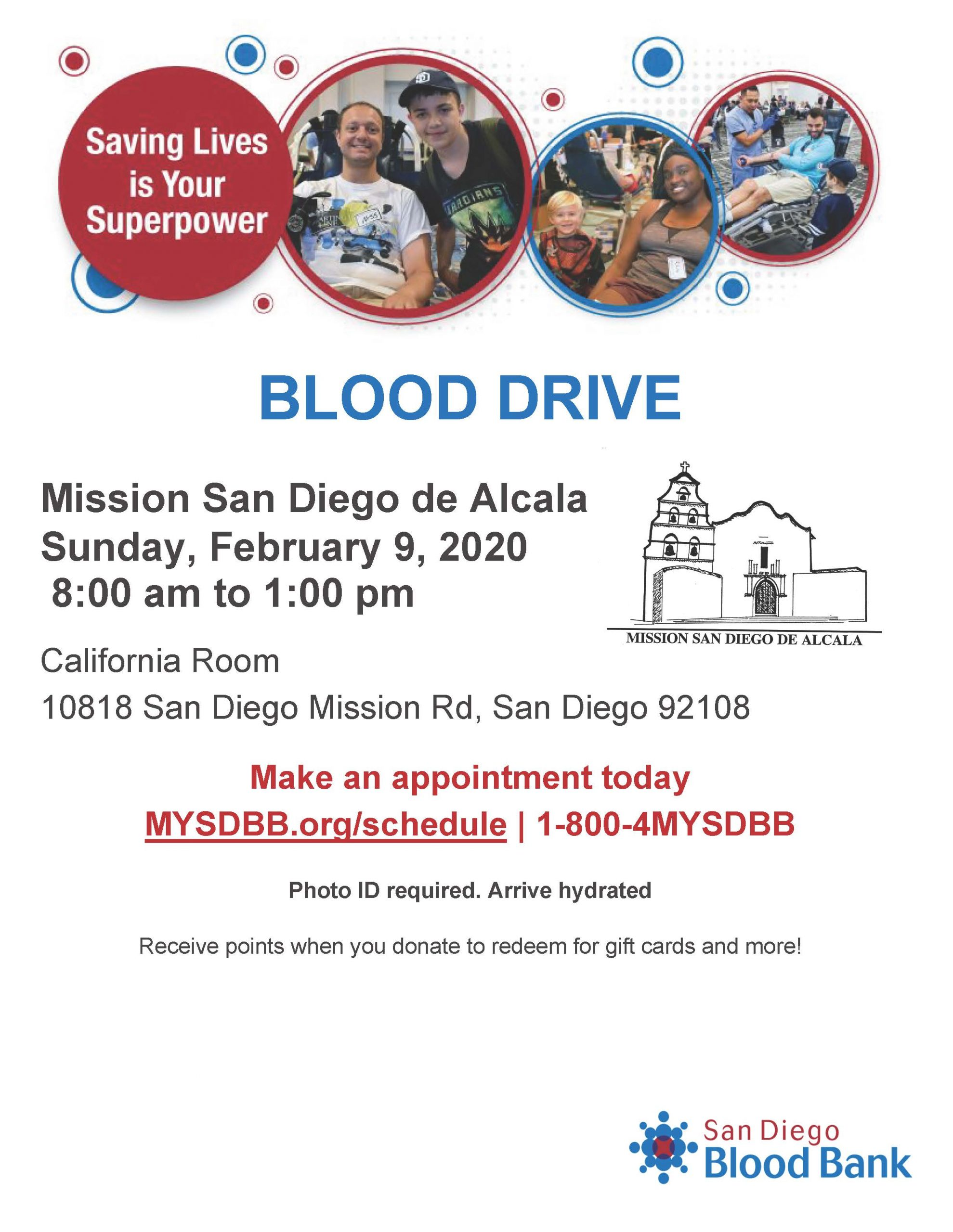 Mission Blood Drive